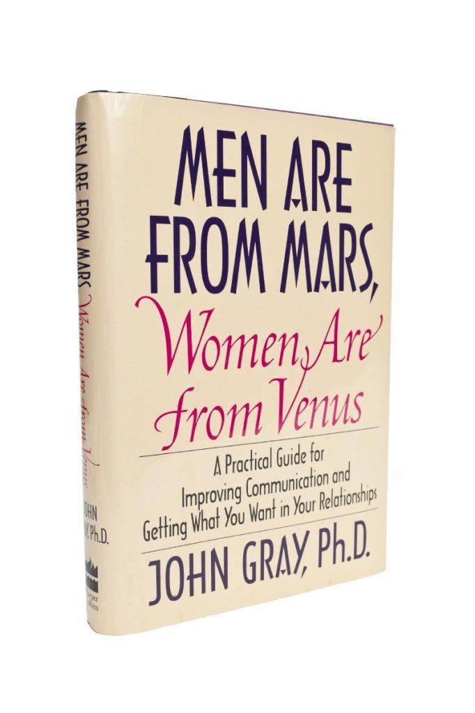 sách tâm lý: Đàn ông đến từ sao hỏa - Đàn bà đến từ sao Kim
